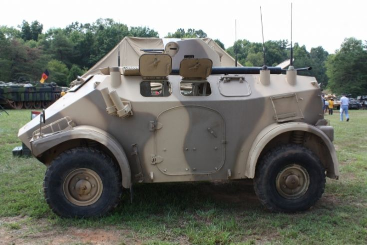 French Panhard M3 Armored Car