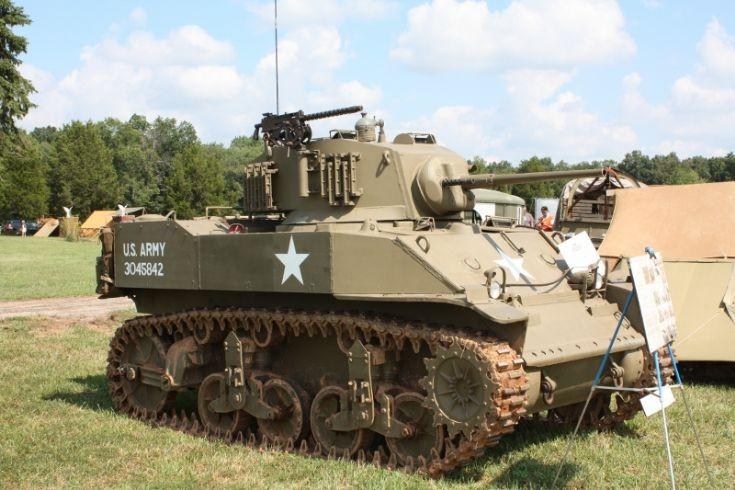 M5 Light Tank