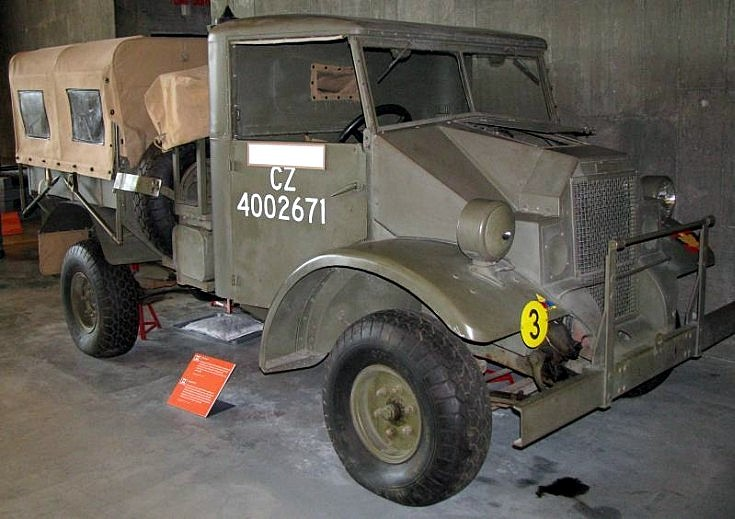 Unidentified Canadian WWII truck