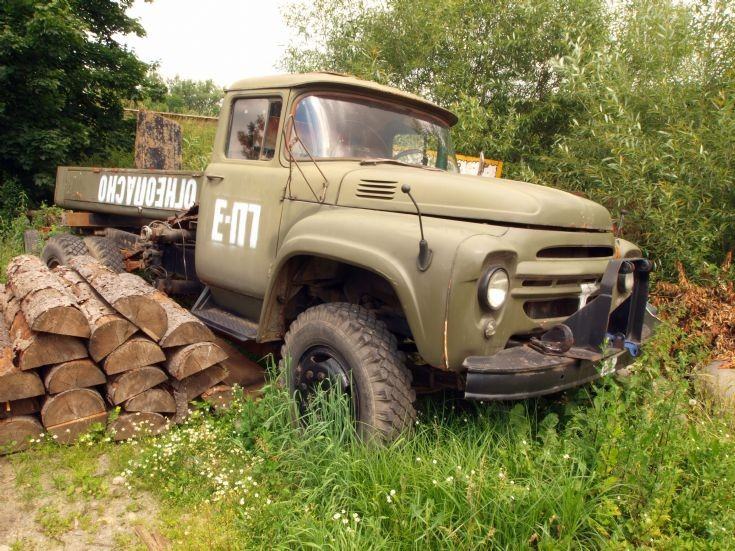 Unidentified Czech army truck