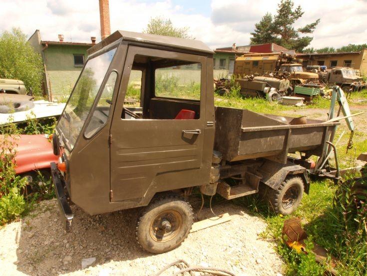 Czech army utility truck