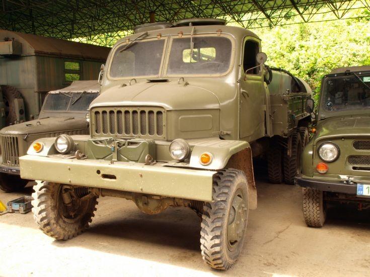 Czech army truck Praga V3S