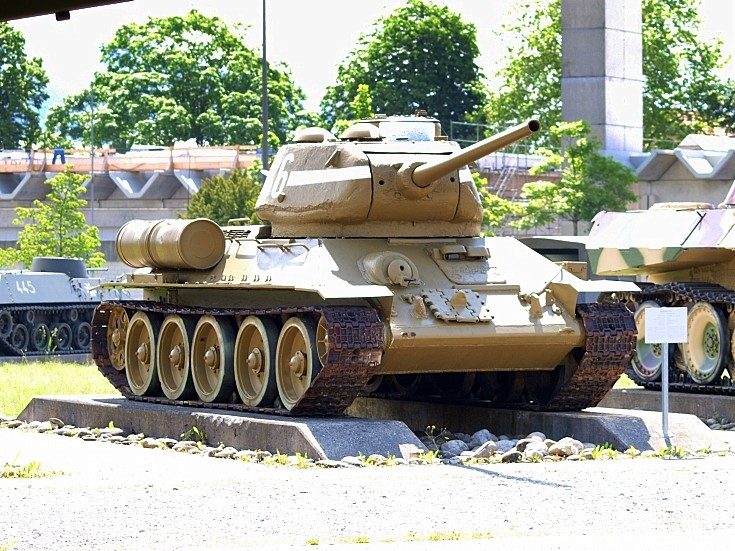 T34/85 in Thun