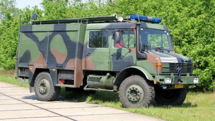 Mercedes Benz Unimog Fire engine Gilze
