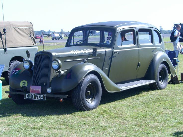 Humber Staff Car.WW2