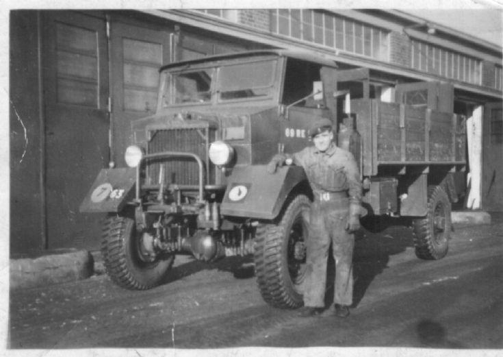Karrier K6  Minden Germany 1951