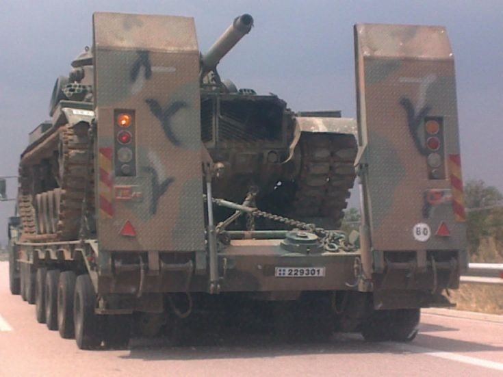 M60 tank -Transportation
